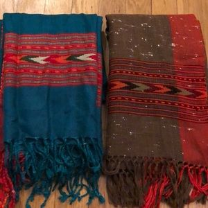 NEW Scarves From India!
